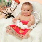 初孫の朋弥 7ヶ月です。